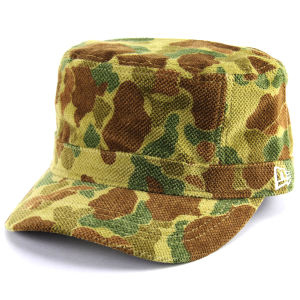 NEWERA corduroy camouflage work cap men new gills hat pattern hunter duck  new era camouflage pattern outdoor army armed forces fashion / green duck