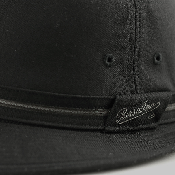 cf5722597d9 ... Large Alpine borsalino hat size flannel men s autumn winter borsalino  Hat simple logo Hat brand ...