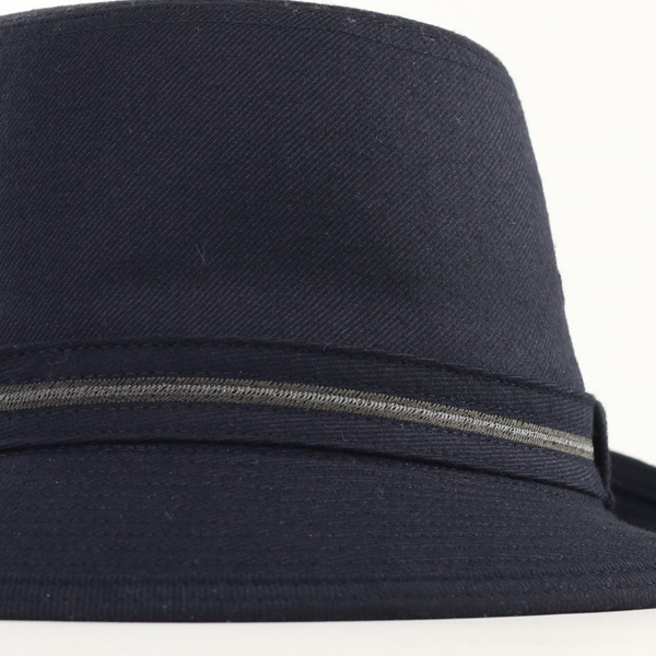 1aaaa3abee2 ... Borsalino Hat mens fall winter borsalino Hat flannel Alpine Hat simple  logo with Alpine Hat ...