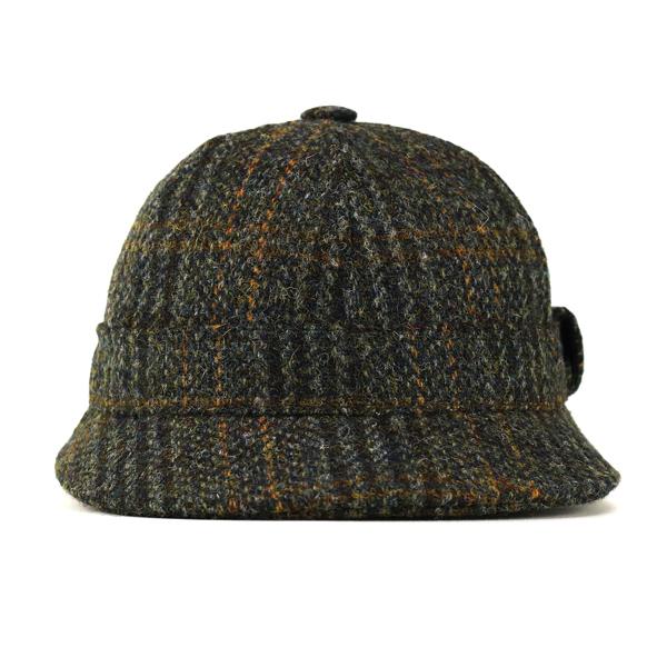 6f3dad4539c61 ... Clan Beth detective Cap harris tweed Sherlock hat made in France deer  stalking Hat crambes Harris ...