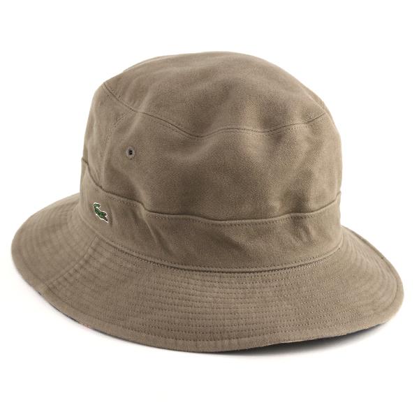 6284d5fe359e9 ELEHELM HAT STORE  Sakha re-hat check plain fabric Lacoste hat men ...