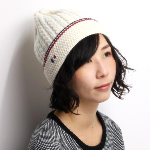 LACOSTE knit hat men s tricolor Wani mark made in Japan brand fall winter  NET watch ... 17f362424e9
