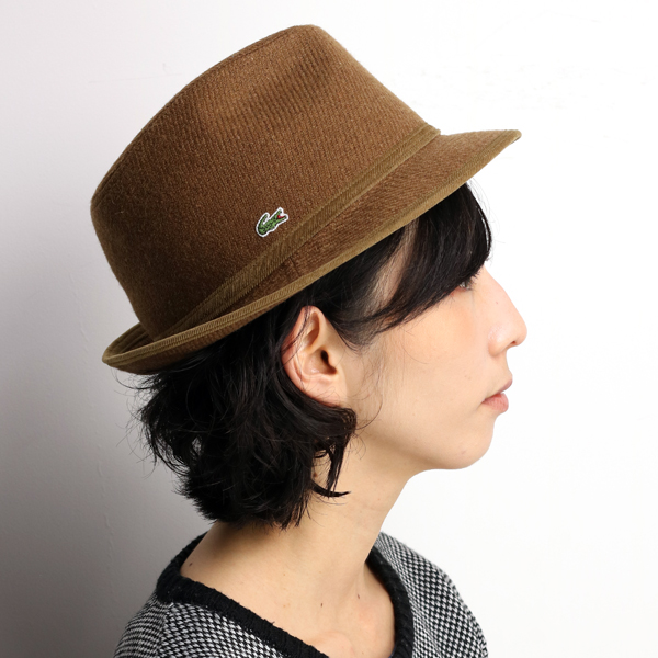 a5d87adc651 Casual camel  fedora  present man woman made in Lacoste soft felt hat hat  men ...