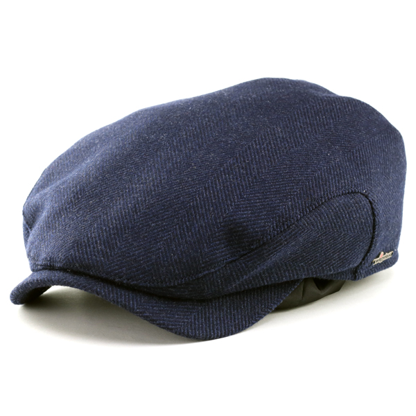 wigens Cap Loro Piana and Wigens double name high-quality wool material repelling water hunting Loro Piana storm system windproof and fully available waterproof Vignes fall-winter Navy Blue ivy cap Christmas gift man hat store 10P03Dec16