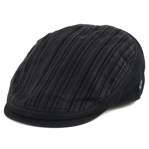 04bba877723 Shon Cap corduroy katsuragi variants 5-way big hat size stripe hunting Cap  fall  ...