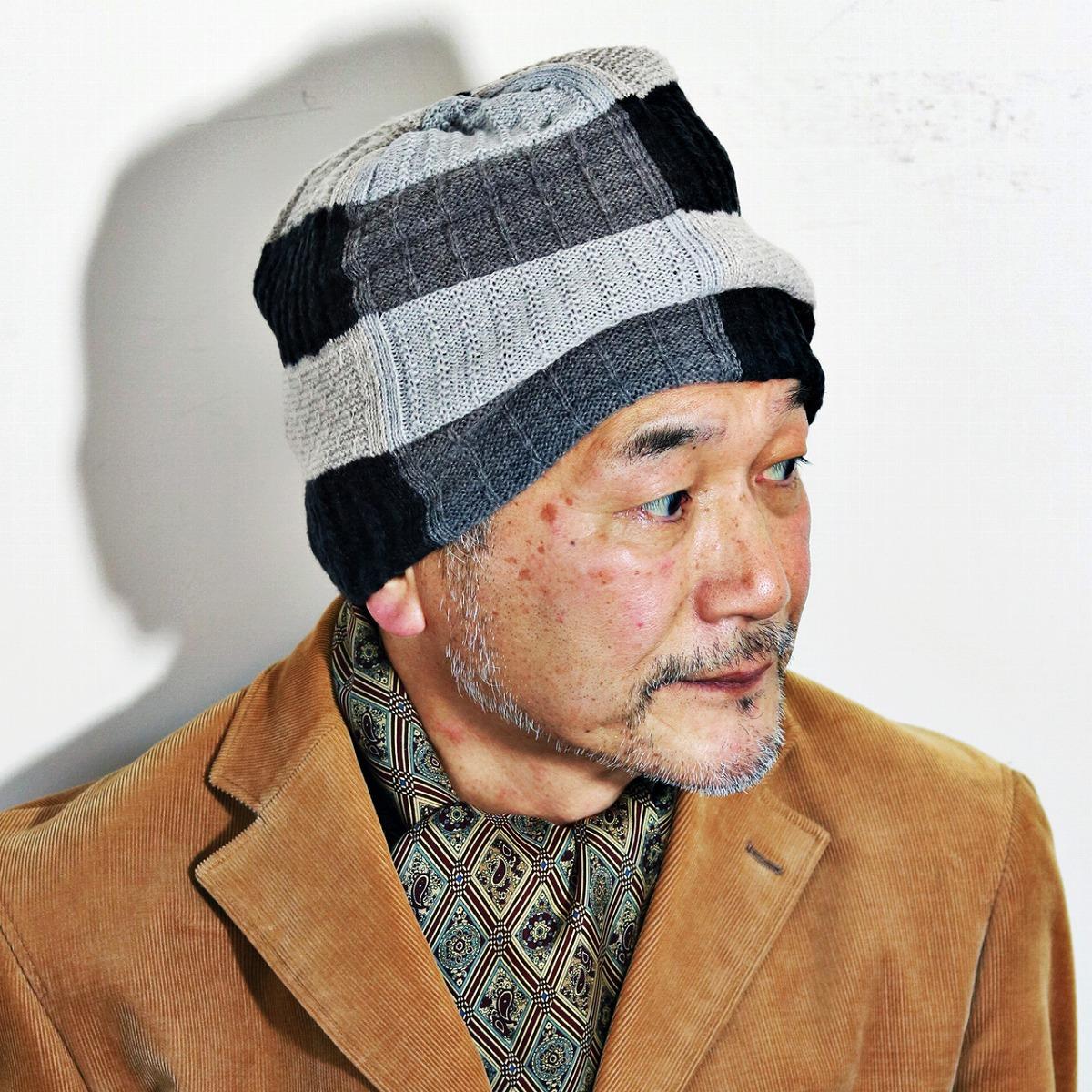 68136f0e149 Knit Cap patchwork Shon Hat cable knit hair mixed Kamon autumn winter men s  mix knit Womens mila schon Beanie men s fashion casual black beanie cap ...