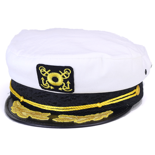 Sailor Malin fashion white white  marine cap  of the Malin cap men hat  ドーフマン ... 0883c284db6