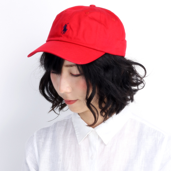 c281f15c2 Ralph Lauren caps men's women's spring summer ralphlauren cap POLO wash  processing sports awning size red red (hat and shade sports caps men's hats  ...