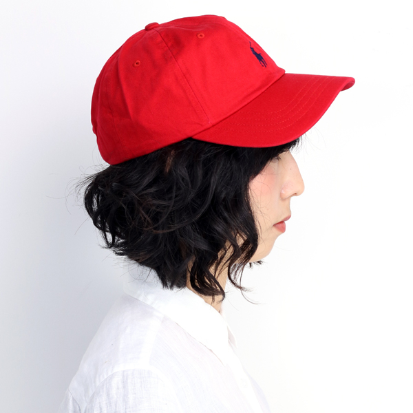 Ralph Lauren caps men s women s spring summer ralphlauren cap POLO wash  processing sports awning size red red (hat and shade sports caps men s hats  30s 40s ... 8172ce79bad1
