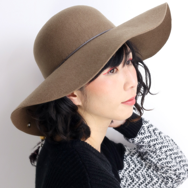 8bddf4e83c3 Ladies Hat hats Garbo Hat brim Guangzhou   capelin hat PETER GRIMM Peter  grim and