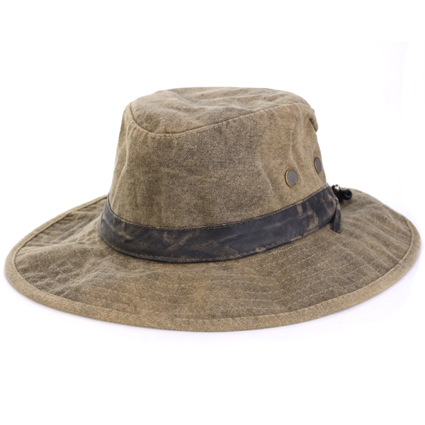 Hat big size exploration Bush hat safari hat outdoor camping awning survival tea brown [bucket hat] hat mail order men hat gift present of Stetson boo knee hat STETSON adventure hat broad-brimmed hat men military line