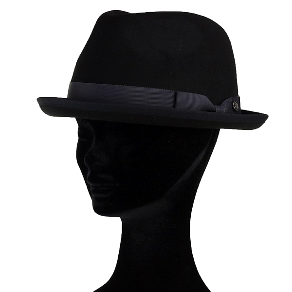 Munsingwear hat men felt hat soft felt hat hat Lady's new reply Coe polyester felt hat gentleman man thing hat penguin mark brand 57.5cm magic tape adjuster size adjustable / black black [felt hat] in the fall and winter in the fall and winter [fedora]