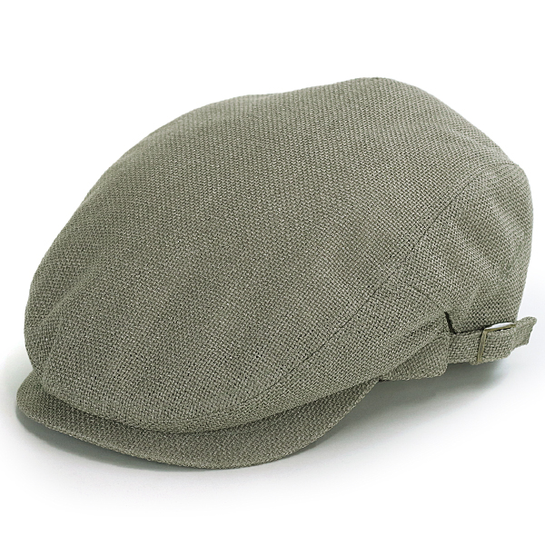 f29279884a0 Size richness hat mesh size adjustable gentleman hunting cap hat Shin pull  plain fabric green system khaki   olive  ivy cap  that the Borsalino ivy cap  ...