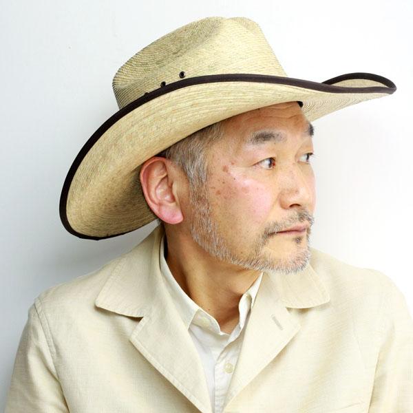 RESISTOL レジストル 帽子 カウボーイハット メンズ 夏 [ JASON ALDEAN HICKTOWN ] ストローハット 大きいサイズ XL ブランド カントリー 音楽 テンガロンハット 麦わら帽子 パームブレード ハット ナチュラル [ straw hat ][ cowboy hat ]
