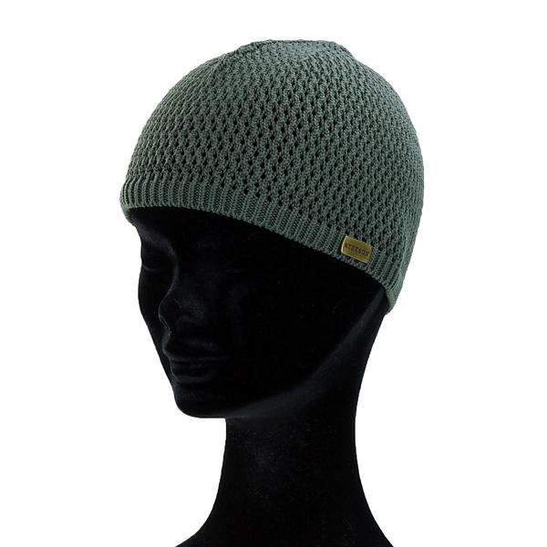 eef76fb25 ... Summer knit hat beanie casual men coordinates outdoor / charcoal [beanie  cap] stetson hat ...