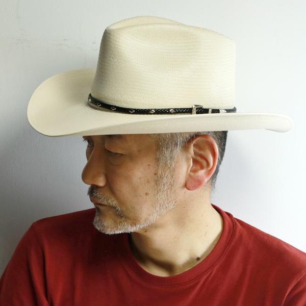ステットソン テンガロン カウボーイ ハット ストローハット 大きいサイズ 小さいサイズ シャンタン 8X STETSON 春夏 帽子 高級 上質 DIAMOND JIM 中折れ メンズ 麦わら帽子 レディース 白 ホワイト ナチュラル [ cowboy hat ] [ straw hat ] stetson 通販 ギフト