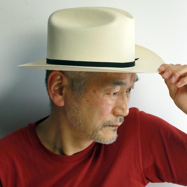 ステットソン 春夏 帽子 OPEN ROAD テンガロン ストローハット シャンタン 6X 中折れハット メンズ レディース STETSON 帽子 シンプル 無地 高級 上品 小さいサイズ 大きいサイズ 黒リボン 白 ホワイト ナチュラル [ fedora ] [ straw hat ] stetson 帽子通販 ギフト