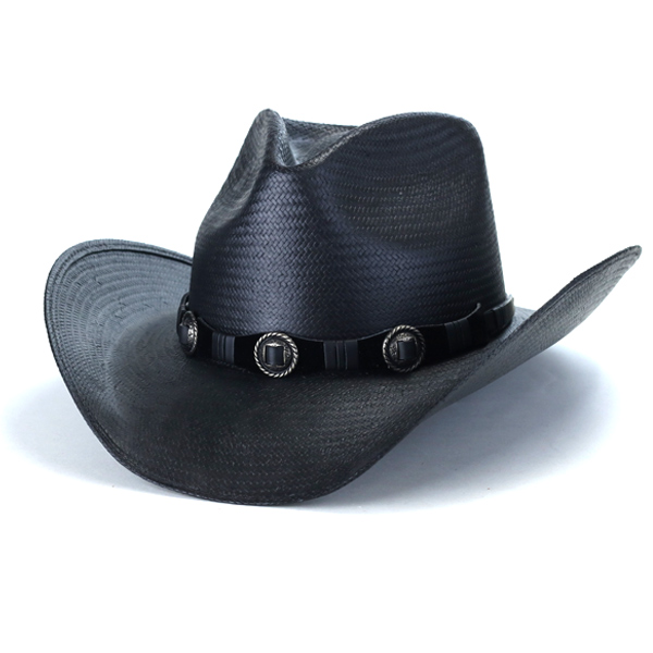 Lock coordinates ten gallon Western film hat United States brand   black  black  cowboy hat ... 2667c5c7b10