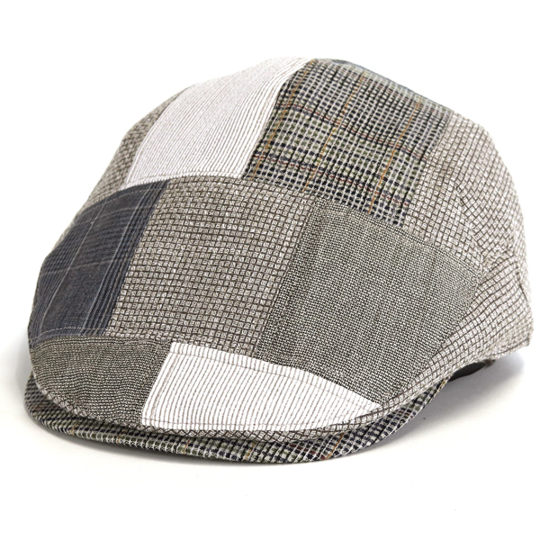 74d9975a63a It is a gift present in the product made in DAKS hunting cap men s big size  patchwork hunting cap hat gentleman daks 17SS adult Daks hunting cap hat  British ...