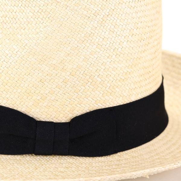 メンズハット 中折れ帽 ハット エクアドル 春夏 ナチュラル ギフト [ panama hat ] 無地 ワイドブリム プレゼント SERRANO HAT セラノハット レディース シンプル メンズ M L XL パナマ帽 大きいサイズ パナマハット リボン ストローハット / ハンドメイド