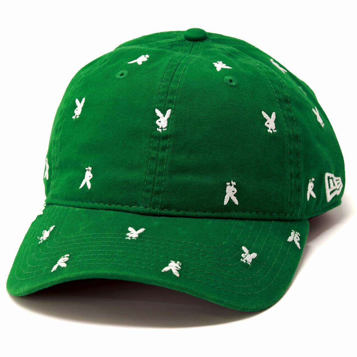 Brand rabbit 9TWENTY adjustable size street Lady s fashion   green Kelly  green  baseball cap  ... 375860c4b21
