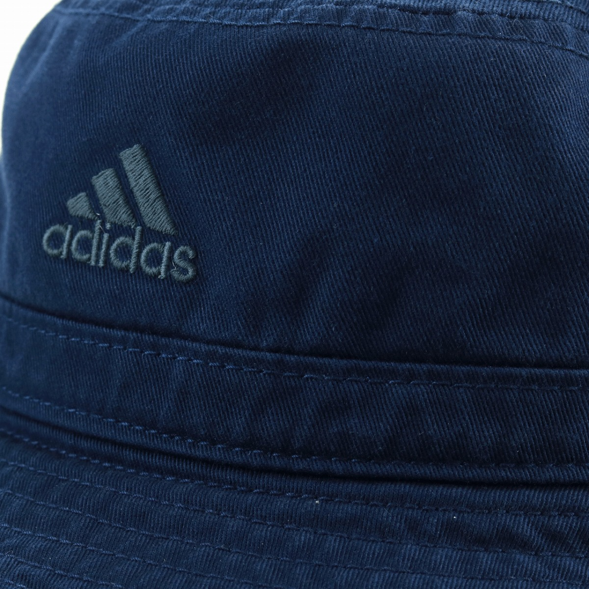 Safari hat men adidas hat Adidas Sakha re-hat awning hat man and woman combined use sports mixture coordinates hat Shin pull lady's fast-dry 58cm outdoor outdoors festival / dark blue navy [bucket hat] Father's Day gift present in the spring and summer