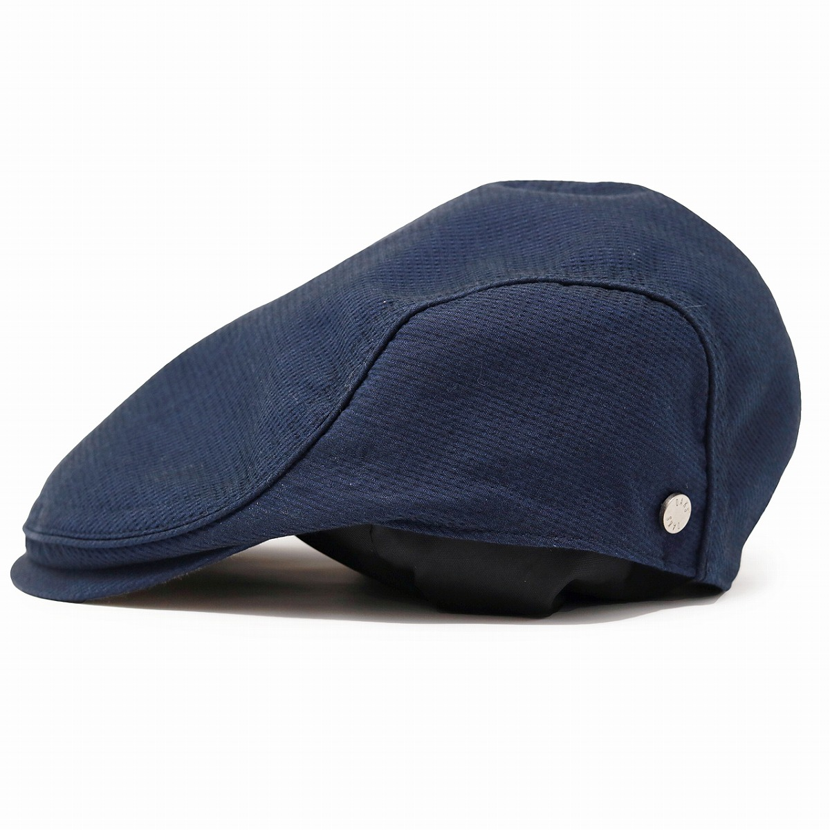 It is a gift present in product made in checked pattern DAKS hat cotton natural fiber Japan Shin pull lining house check / dark blue navy [ivy cap] Father's Day in the spring and summer unisex the daks hunting cap which there is the size S M L LL size th