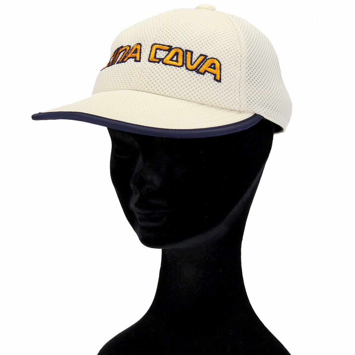 Niceness spring and summer person sensitive to heat cap heat stroke measures awning China Koba baseball cap logo cap sports / white off-white [baseball cap] that there is product made in SINACOVA mesh cap bell oasis water absorption domestic production h