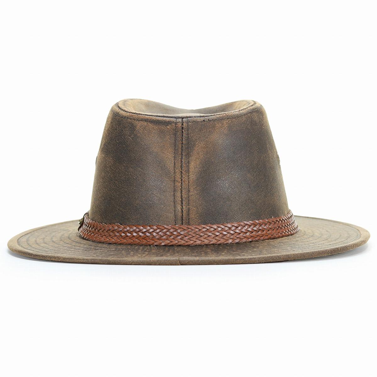 8dd943a9af8812 ... stetson broad-brimmed hat men leather style ユーズド processing oar season  cowboy hat men vintage ...
