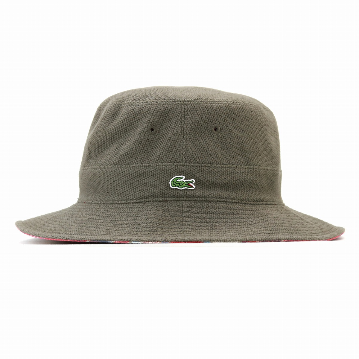 06ad0dfe4c1682 ... Sakha re-hat men Lacoste hat safari lacoste reversible pail hat checked  pattern LACOSTE awning ...