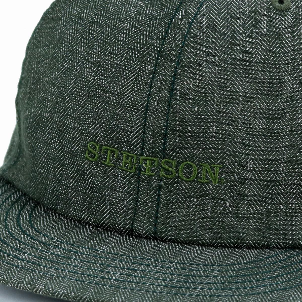 8f0e8838f5a ELEHELM HAT STORE Linen Product Made In Cool Royal Stetson Logo Cap Hemp  Shin Pull Plain
