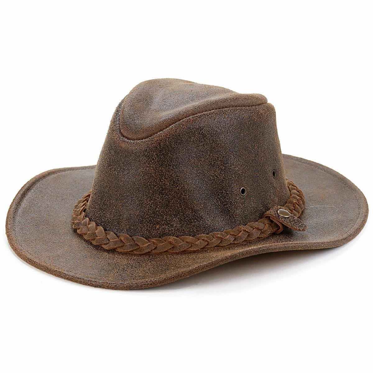 60cm 大きいサイズ 限定タイムセール アメリカ製 折り畳める 高級レザー HENSCHEL 本革 カウボーイ ハット ヘンシェル レザー 帽子 ダメージ加工 クラッシャブル 牛革 商品 スエード ブラウン ウエスタン hat 50代 男性 ヴィンテージ プレゼント 父の日 40代 cowboy 敬老の日 茶 60代