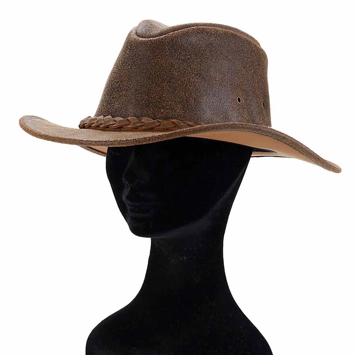 9b24b5023e4d8 Genuine leather cowboy hat Henshel leather hat HENSCHEL damage processing  crusher bulldog cowhide suede hat western vintage tea brown  cowboy hat   Father s ...