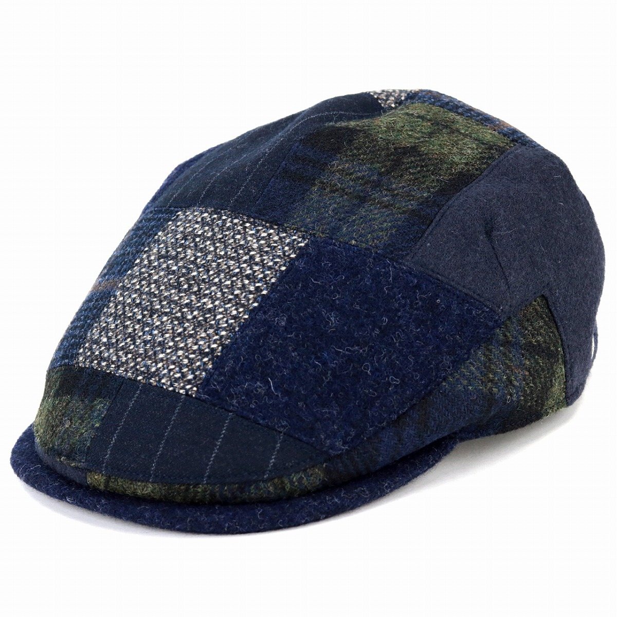 9d809e5e9d1 Casual hunting cap hat fashion U.K. brand   dark blue navy  ivy cap  man  Christmas present hat made in DAKS hunting cap patchwork men hat Daks  hunting cap ...