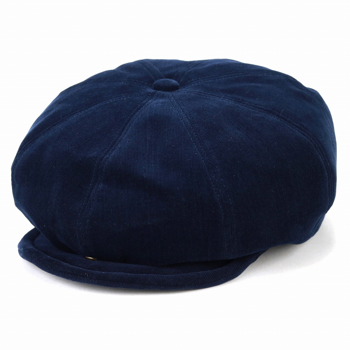 ... Brand luster 8 panel cotton 100L size   dark blue navy  newsboy cap   Christmas ... 86b1a2c306a0