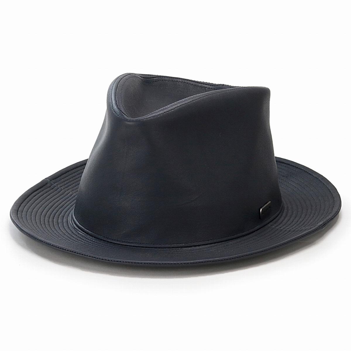 58cm 60cm STETSON gentleman soft felt hat Shin pull gray black black   fedora  stetson ... 854a53486cf