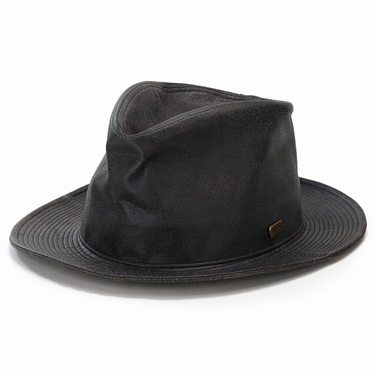 302d0818 ELEHELM HAT STORE: 58cm 60cm STETSON gentleman soft felt hat Shin pull tea  brown [fedora] stetson hat mail order man hat Christmas gift present made  in ...