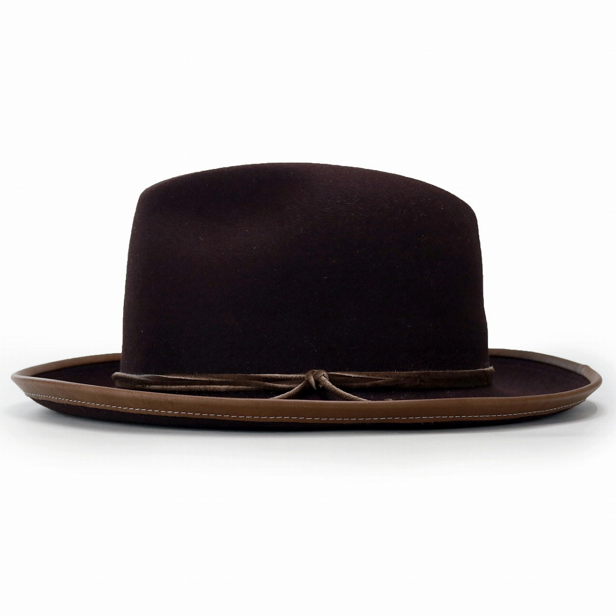 ... The Stetson broad-brimmed hat men brown tea  wide-brim hat  stetson ... da3a54a318d