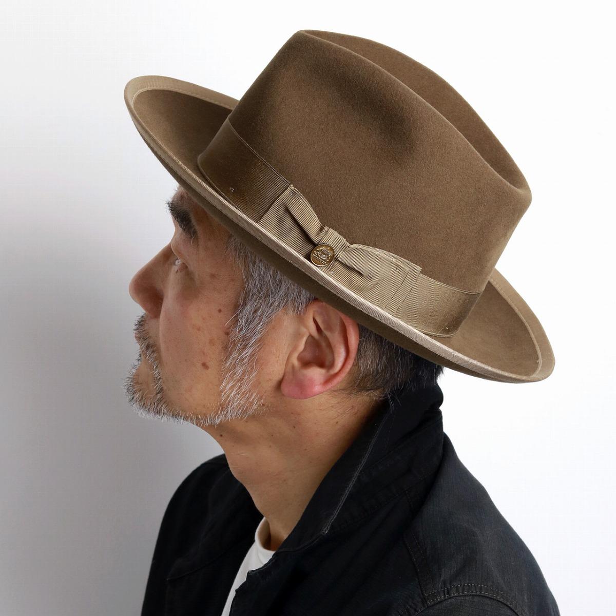Stetson felt hat men soft felt hat hat vintage we pet soft felt hat  gentleman high ... 8f8e9b46fd9