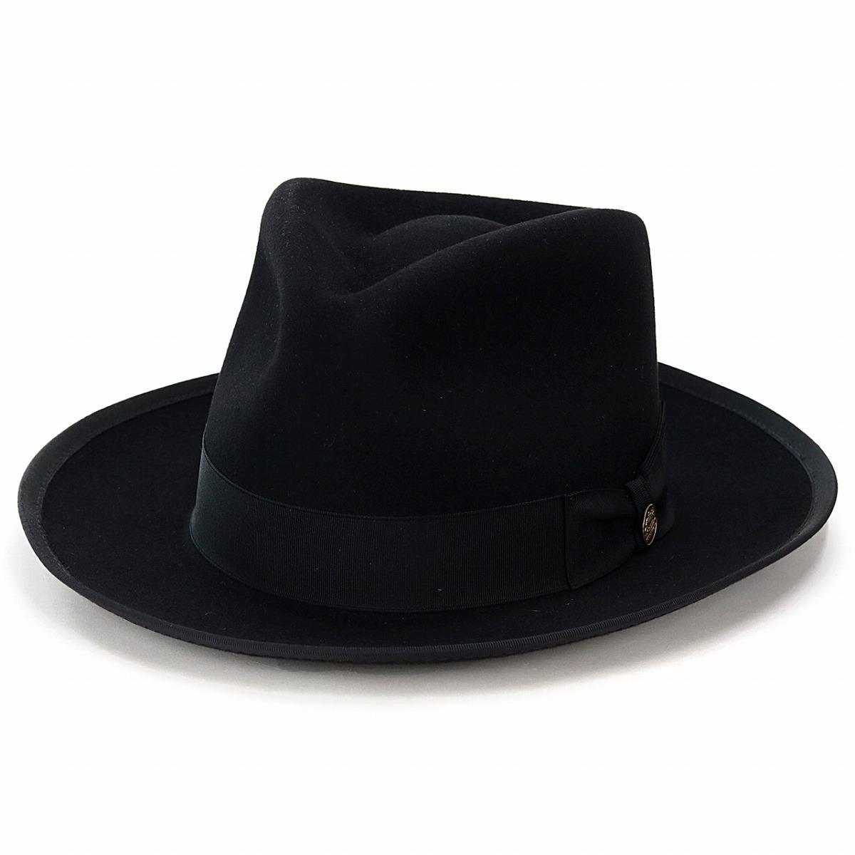 Felt hat men Stetson soft felt hat hat vintage we pet STETSON WHIPPET  high-quality American brand gentleman hat classical black black  fedora  stetson  hat ... 24046767394f