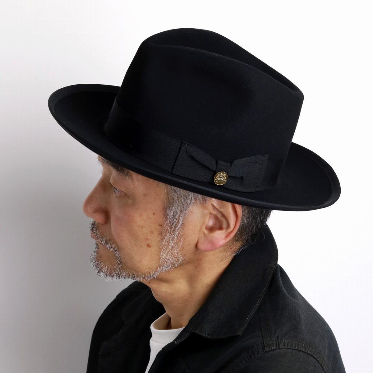 7cc681f55ea Felt hat men Stetson soft felt hat hat vintage we pet STETSON WHIPPET  high-quality ...