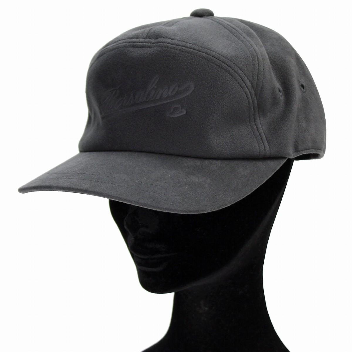 842317c6655 The cap men Borsalino hat size logo cap adult Shin pull plain fabric S M L  LL 3L back adjuster size adjustable   gray  baseball cap  Christmas present  ...