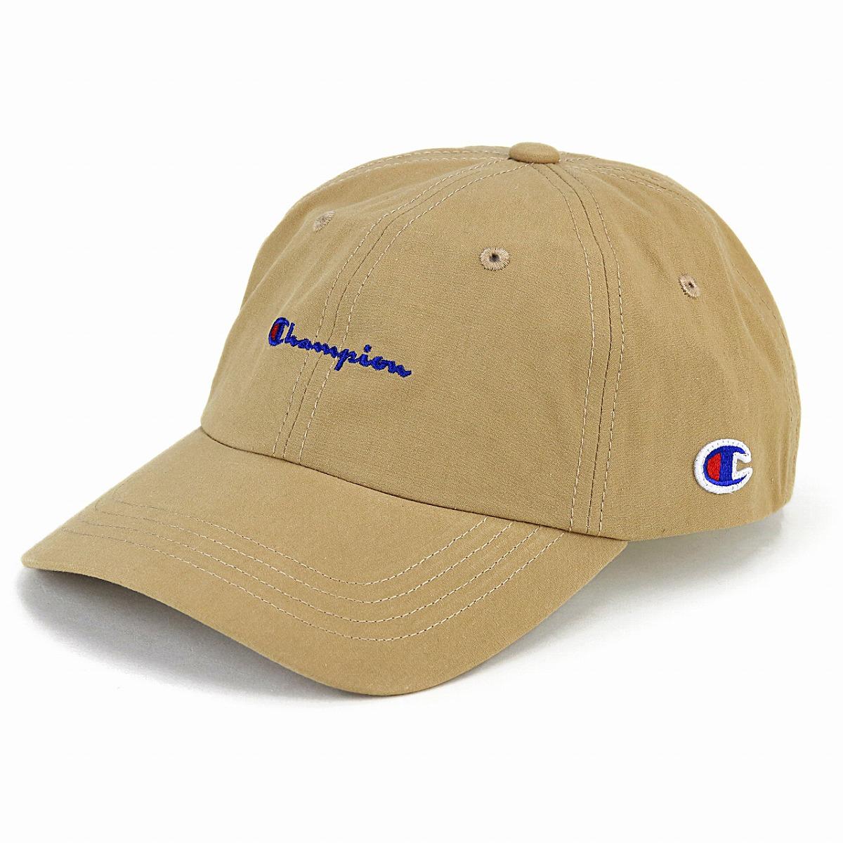 0b4ffb3f649 Champion cap men champion low cap Lady s logo cap Shin pull plain casual hat  sports cap unisex adjustable size   beige  baseball cap  birthday present  ...