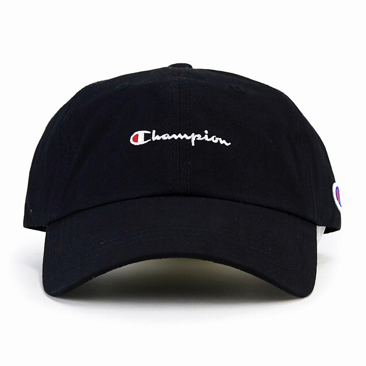 911653a3417 ELEHELM HAT STORE  Champion cap black men champion low cap Lady s ...