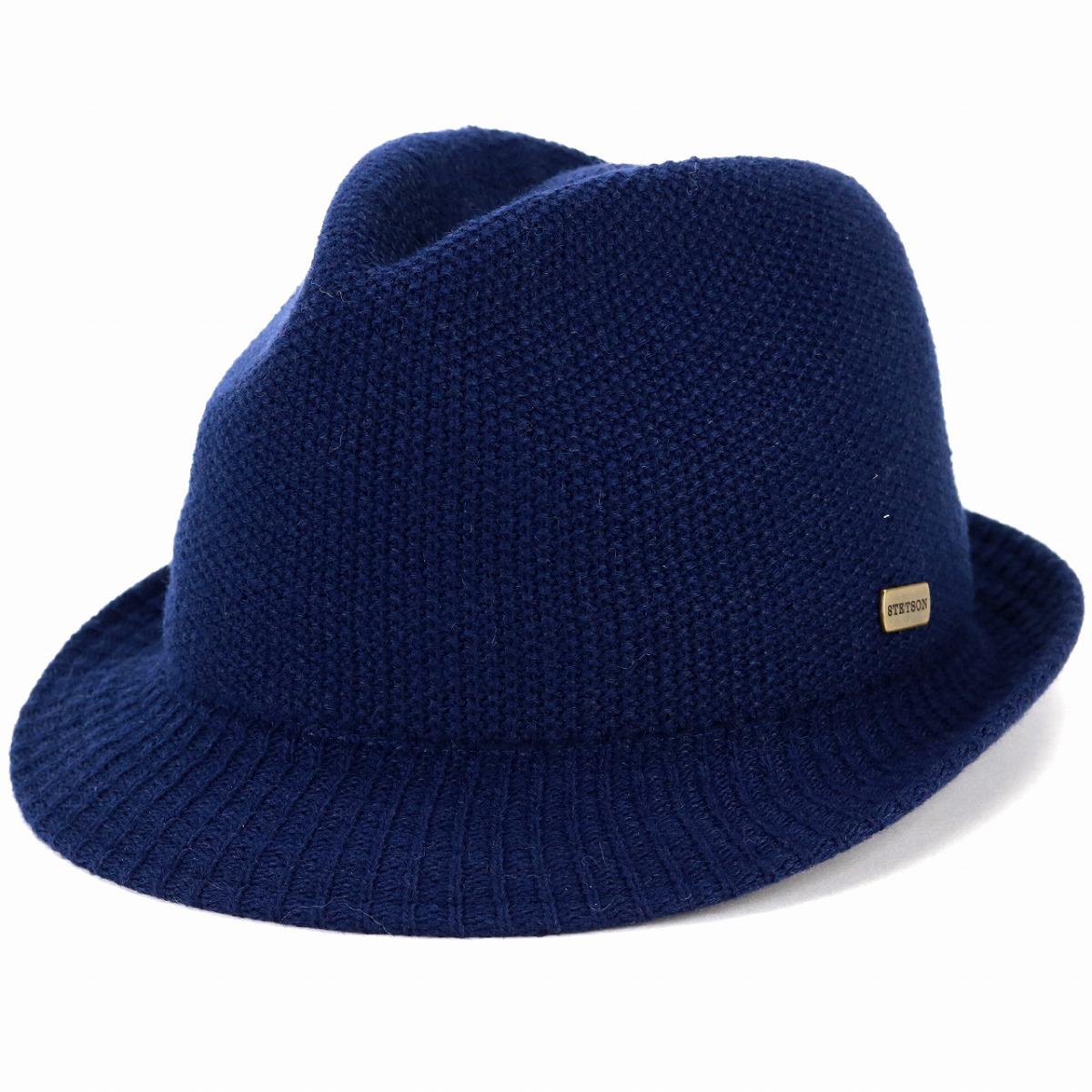 2e6fc0ecc7944 ELEHELM HAT STORE  The size L LL size dark blue navy  fedora ...
