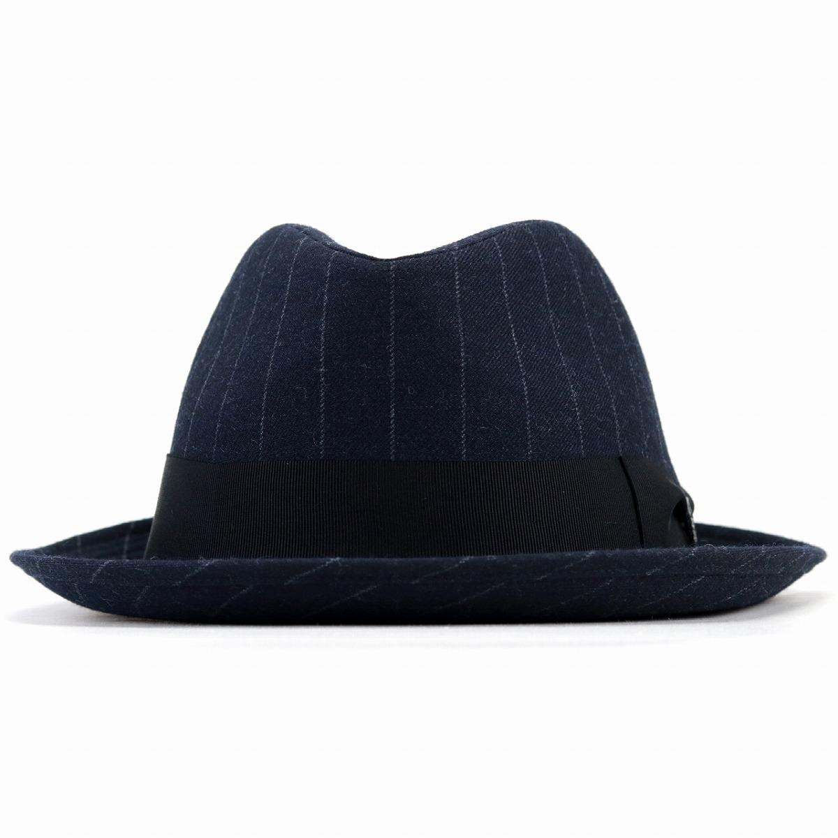 bd7efb37e7cef ELEHELM HAT STORE    dark blue navy  fedora  man Christmas present ...
