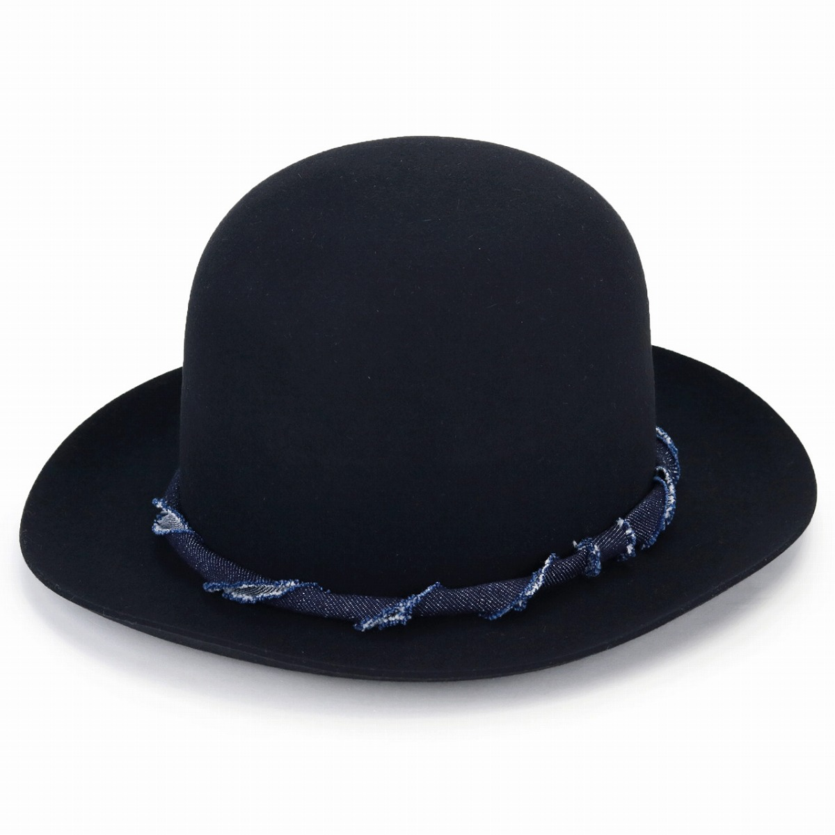 ... the factory made trilby hat gentleman denim hat Lady s soft felt hat  bowler hat mountain hat a8def616584a