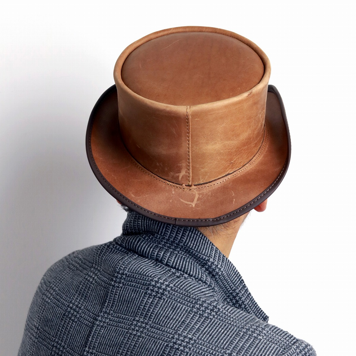 ... It is size adjustment possible   brown tea pecan  top hat  man hat  present 06a0427e16eb