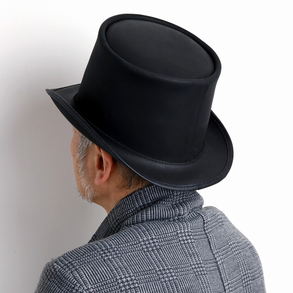 Christmas Top Hat.It Is A Black Black Top Hat Man Hat Present Christmas Gift In Head N Home One Of A Kind Hat Individual Flamboyance Lady S Fall And Winter Made In