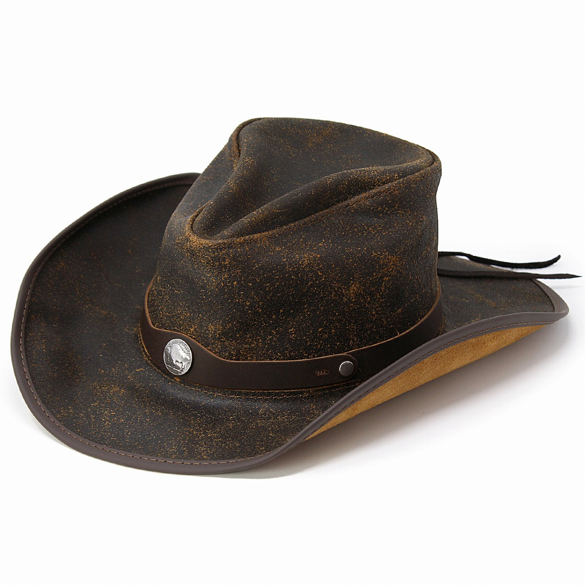 ... The lady s gentleman hat dark brown walnut  cowboy hat  man hat present  Christmas gift ... 4e215b6658d